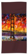 Golden Gate Bridge  Beach Towel