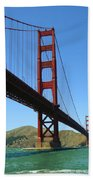 Golden Gate Bridge San Francisco Beach Towel