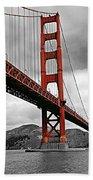 Golden Gate Bridge - San Francisco Beach Towel