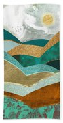 Golden Hills Beach Towel