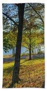 Golden Hour At Tenkiller State Park Beach Towel