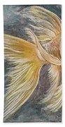 Golden Koi Beach Towel