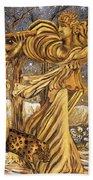Golden Minstrels. Beach Towel