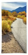 Golden Moments In Mammoth Beach Towel
