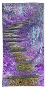 Golden Path Down To Rosslyn Glen Beach Towel