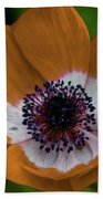 Golden Poppy Beach Towel