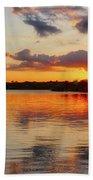 Golden Rays Beach Towel
