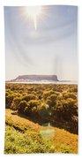 Golden Stanley Landscape Beach Towel
