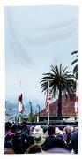 Golden State Berners Beach Towel