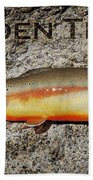 Golden Trout Beach Towel