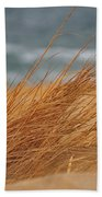 Golden View Beach Towel