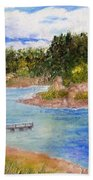 Goldwater Lake Beach Towel