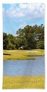 Golf Course Beauty  Beach Towel