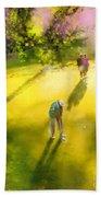 Golf In Spain Castello Masters  01 Beach Towel