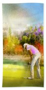 Golf Madrid Masters  02 Beach Towel