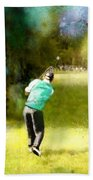 Golf Vivendi Trophy In France 02 Beach Towel