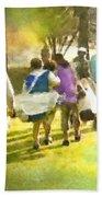 Golf Vivendi Trophy In France 04 Beach Towel