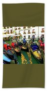 Gondoliers In Venice Beach Towel