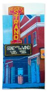 Gone With The Wind At The Strand Beach Towel