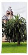 Gonzales County Court House Beach Towel