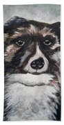 Good Dog By Christine Lites Beach Towel