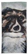 Good Dog By Christine Lites Beach Sheet