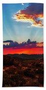 Good Evening Arizona Beach Towel