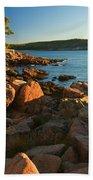Good Morning Acadia Beach Towel