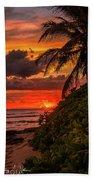 Good Night Hawaii Beach Towel