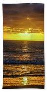 Good Night Beach Towel