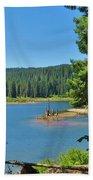 Goose Lake Beach Towel