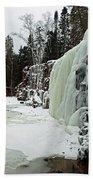 Gooseberry Frozen Falls Beach Towel