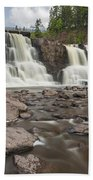 Gooseberry Middle Falls 24 Beach Towel