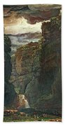 Gordale Scar Beach Towel