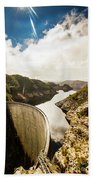 Gordon Dam Tasmania  Beach Towel