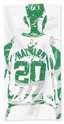 Gordon Hayward Boston Celtics Pixel Art T Shirt 5 Beach Towel