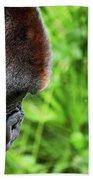 Gorilla Portrait Beach Towel