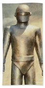 Gort From The Day The Earth Stood Still Beach Towel