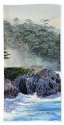 Gossamer Fog Beach Towel