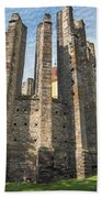 Gothic Cathedral Of Our Lady Beach Towel