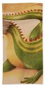 Gourd Dragon Beach Towel