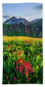 Governor's Basin In Bloom Beach Towel