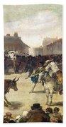 Goya: Bullfight, 1793 Beach Towel