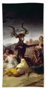 Goya: Witches Sabbath Beach Towel