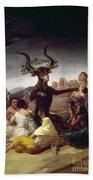Goya: Witches Sabbath Beach Sheet