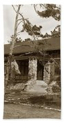 Grace H Dodge Chapel Auditorium Asilomar Circa 1925 Beach Towel