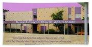 Grace Lutheran School Beach Towel