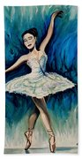 Graceful Dance Beach Towel
