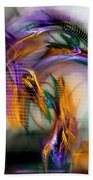 Graffiti - Fractal Art Beach Towel by NirvanaBlues