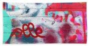 Graffiti 1 Beach Towel